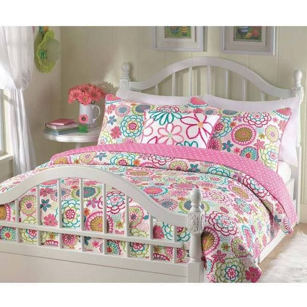 Mariah 2-piece Quilt Set Twin Size (As Is Item)