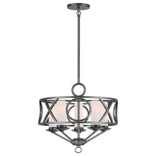 Crystorama Odette Collection 5-light English Bronze Chandelier