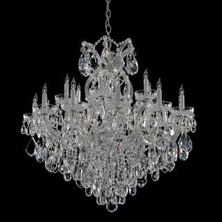 Maria Theresa 18+1-light Chrome/Italian Crystal Chandelier