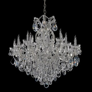 Crystorama Maria Theresa Collection 18 + 1-light Crystal Chandelier