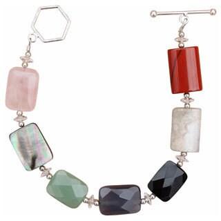 Beadwork By Julie Gemstone Medley Bracelet