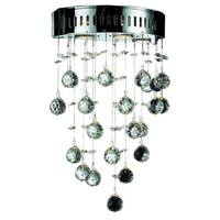 Somette Vaud Royal Cut Crystal and Chrome 3-light Wall Sconce
