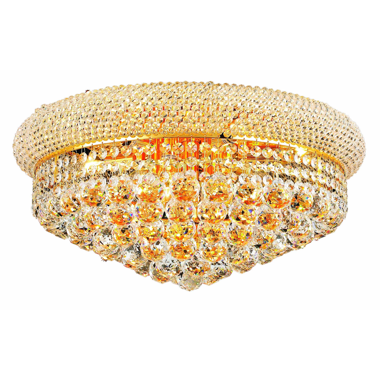 Christopher Somette Geneva 10-light Royal Cut Crystal and...