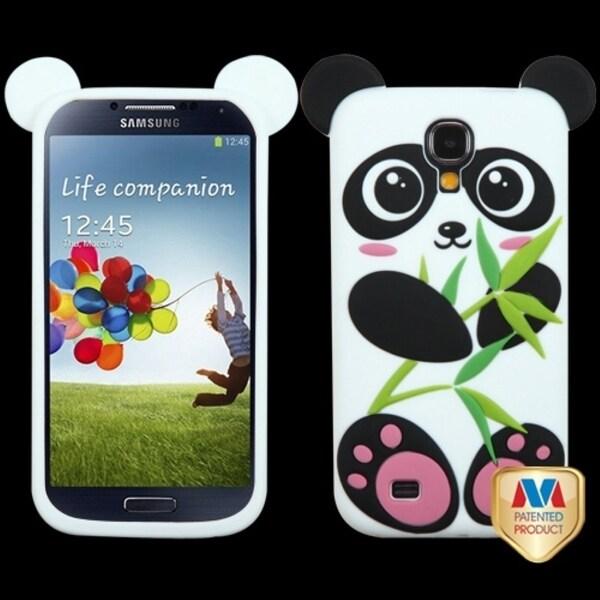 BasAcc Black/ White Panda Pastel Skin Case for Samsung Galaxy S4 I337