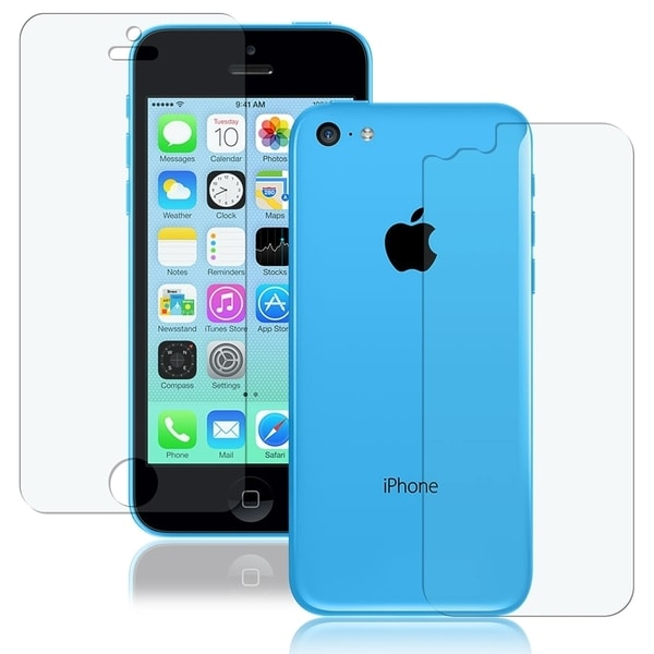 INSTEN 2-LCD Kit Anti-glare Screen Protector for Apple iPhone 5C
