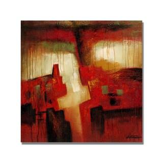Unknown 'Antonio Abstract I' Canvas Art