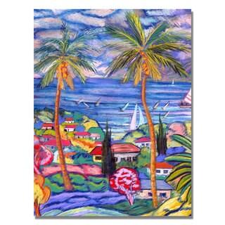 Manor Shadian 'Hawaii Wind Surf' Canvas Art