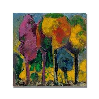 Unknown 'Boyer Puesta de sol' Canvas Art