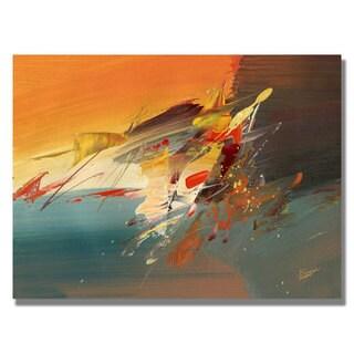 Tapia 'Onward II' Canvas Art