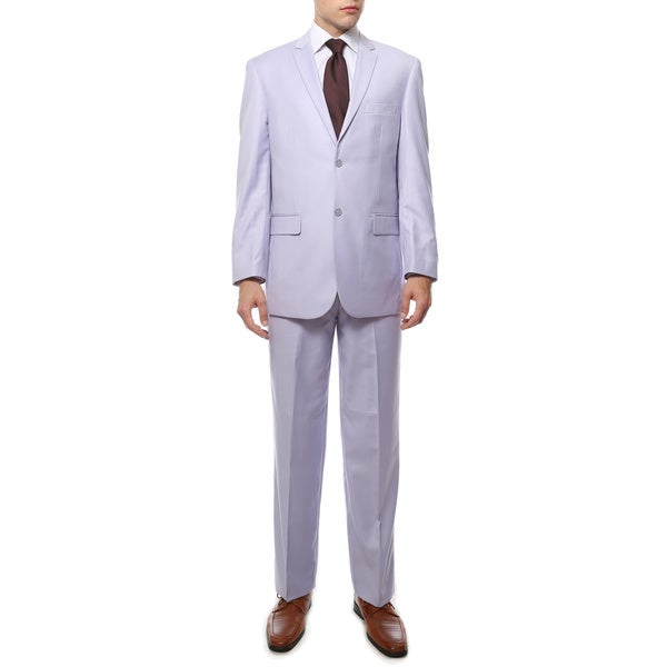 Ferreccis Two Piece Two Buttom Lilac Suit