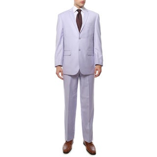 Ferrecci's Two Piece Two Buttom Lilac Suit