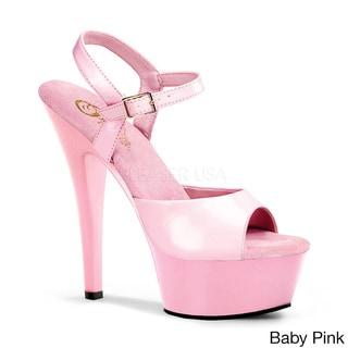 Pleaser Women's 'Kiss-209' 6-inch Spike Heel Platform Sandals