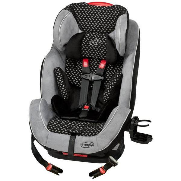 Evenflo Symphony LX All-in-One Car Seat in Graffic Black