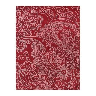 Alliyah Handmade Red Paisley New Zealand Blend Wool Area Rug (9' x 12')|https://ak1.ostkcdn.com/images/products/8478478/P15767560.jpg?impolicy=medium
