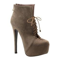 Women's Luichiny Rose Anna Taupe Imi Suede