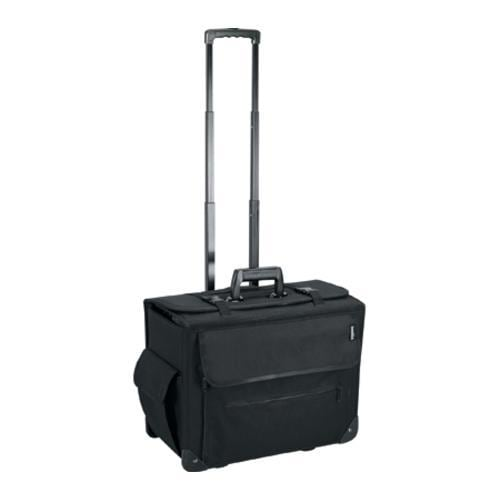 Goodhope Black Rolling 17-inch Laptop Catalog Case