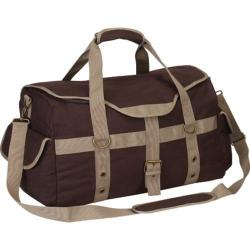 Goodhope P4688 Expresso Canvas Duffle Brown