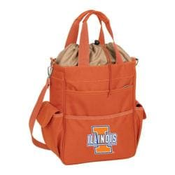 Picnic Time Activo Illinois Fighting Illini Orange