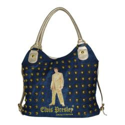Women's Elvis Presley Signature Product Elvis Presley Shopping Bag ELV1326 Gold