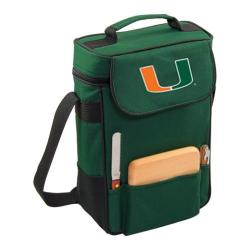 Picnic Time Duet Miami Hurricanes Embroidered Hunter Green