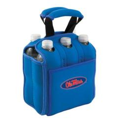 Picnic Time Six Pack Mississippi Rebels Blue