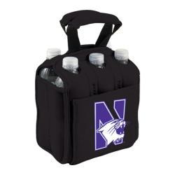 Picnic Time Six Pack Northwestern University Wildcats Black