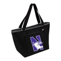 Picnic Time Topanga Northwestern University Wildcats Print Black