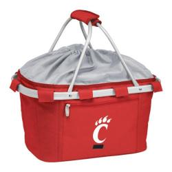 Picnic Time Metro Basket Cincinnati Bearcats Print Red