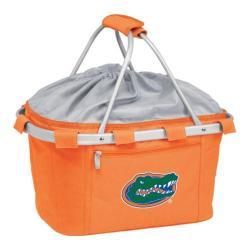 Picnic Time Metro Basket Florida Gators Print Orange