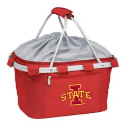 Picnic Time Metro Basket Iowa State Cyclones Print Red