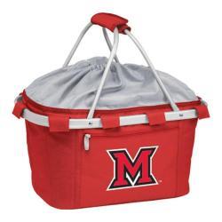 Picnic Time Metro Basket Miami University Red Hawks Emb Red