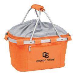 Picnic Time Metro Basket Oregon State Beavers Print Orange