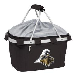Picnic Time Metro Basket Purdue Boilermakers Embroidered Black