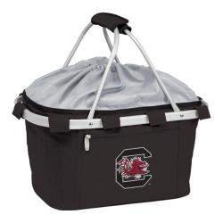 Picnic Time Metro Basket South Carolina Gamecocks Print Black