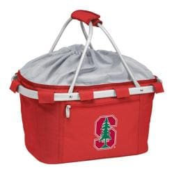Picnic Time Metro Basket Stanford U Cardinal Embroidered Red