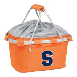 Picnic Time Metro Basket Syracuse Orange Print Orange