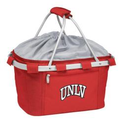 Picnic Time Metro Basket UNLV Rebels Print Red