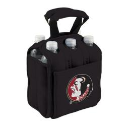 Picnic Time Six Pack Florida State Seminoles Black