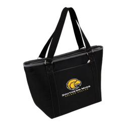 Picnic Time Topanga Southern Miss Golden Eagles Print Black