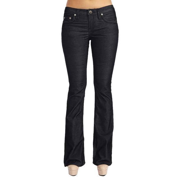 Stitch's Designer Women's Dark Washed Boot Cut Jeans