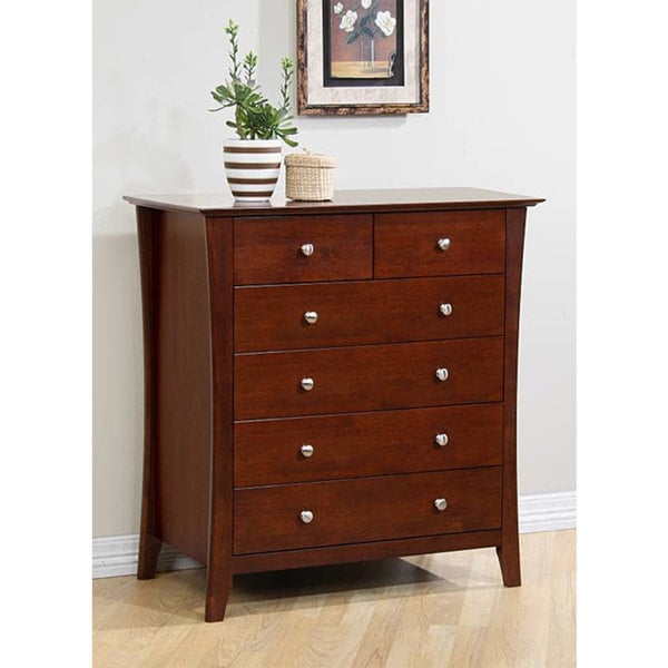 Vermont 6-drawer Chestnut Dresser