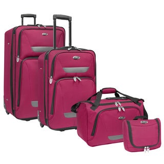 U.S. Traveler by Traveler's Choice Westport 4-piece Luggage Set