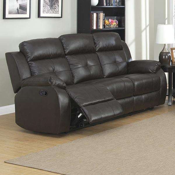 Troy Transitional Dual Reclining Sofa