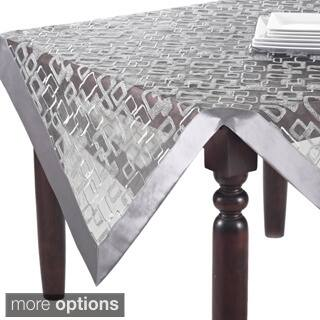 Contemporary tablecloths table linens decor store for less geometric design table topper runner or tablecloth junglespirit Gallery