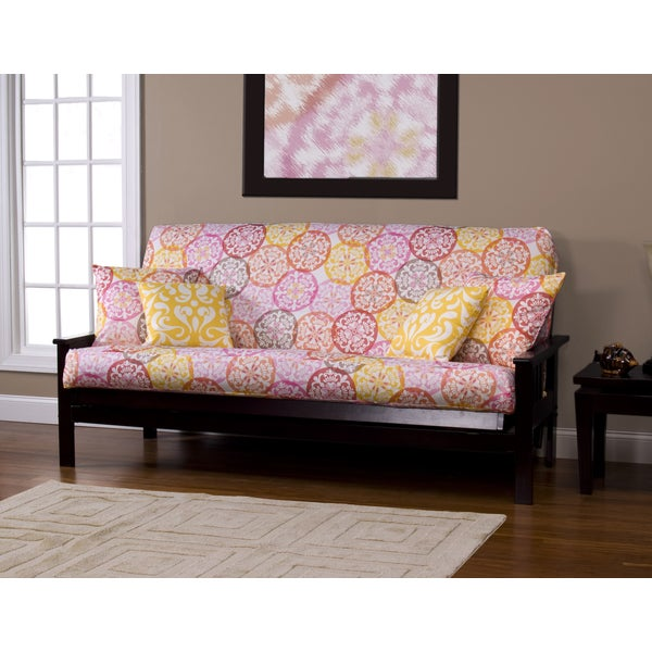 Olivia Medallion Print Futon Cover Free Shipping Today