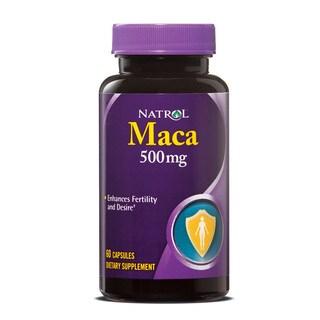 Natrol Maca 500 mg (60 Capsules)