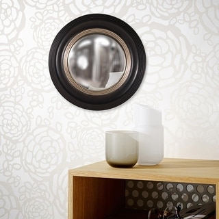 Link to Soho Black/ Silver Accent Mirror - Black/Silver Similar Items in Mirrors