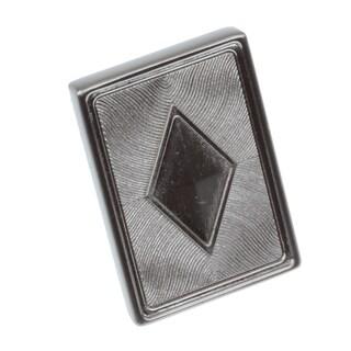 GlideRite 1.375-inch Diamond Series Satin Nickel Square Cabinet Knobs (Pack of 25)