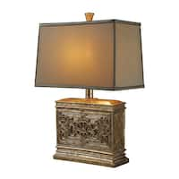 Dimond Lighting Laurel Run 1-light Courtney Gold Table Lamp