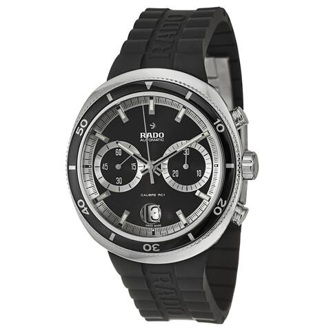Rado Men's 'D-Star' Stainless Steel Chronograph Watch